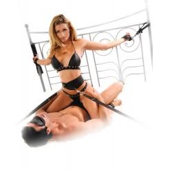 Сексуал.набор для пристег. к кровати+маска