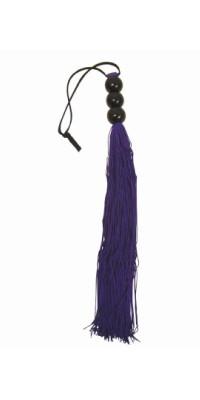 Плетка фиолетовая S&M MEDIUM WHIP - PURPLE