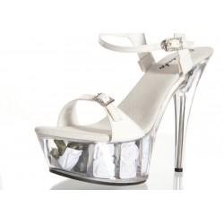 Туфли белые 38р.