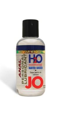 Анальный лубрикант на водной основе с разогревающим эффектом JO Anal H2O Warming 135 мл