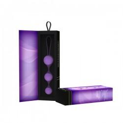 Вагинальные шарики (3 шт.) Key by Jopen - Stella III - Lavender сиреневые