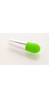 Вибратор 10см зеленый